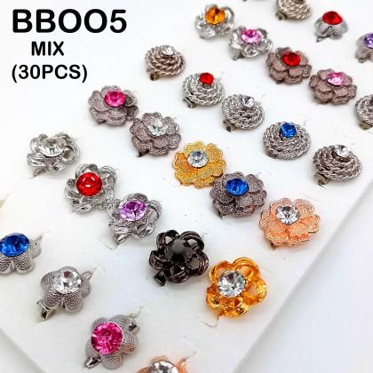Baby Pin Brooch ( Anak Kerongsang ) MIX 30 PCS
